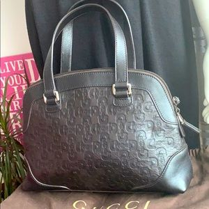 Gucci leather top handle small bag